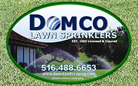 Domco irrigation logo